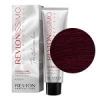 Краска для волос Revlon Professional Revlonissimo Colorsmetique №4.65 Med.Mahogany Red Brown/Коричневый красно-махагоновый - 60 ml