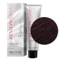 Краска для волос Revlon Professional Revlonissimo Colorsmetique №55.20 Intense Light Burgundy/Светло-коричневый бургундский  - 60 ml