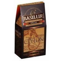 Basilur - Чай черный Остров Цейлон Особый - картонная коробка - 100g (4792252001145)
