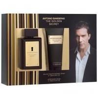 Antonio Banderas The Golden Secret -  Набор (туалетная вода 100 + бальзам после бритья 100)