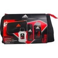 Adidas Team Force - Набор (туалетная вода 100 ml + дезодорант 150 ml + гель для душа 250 ml + косметичка)