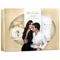 Antonio Banderas Her Golden Secret - Набор (туалетная вода - 50 + лосьон-молочко для тела 100)