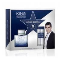 Antonio Banderas King of Seduction - Набор (Туалетная вода 100 ml + дезодорант 150 ml)