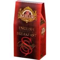 Basilur -Чай черный Избранная классика Английский завтрак - картонная коробка - 100g (4792252920675)