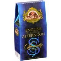 Basilur -Чай черный Избранная классика Английский полдник - картонная коробка - 100g (4792252920682)