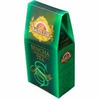 Basilur -Чай зеленый Избранная классика Сенча - картонная коробка - 100g (4792252920729)