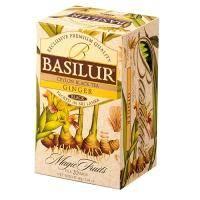 Basilur - Чай черный Имбирь Коллекция Волшебные фрукты - картонная коробка - 20х2g (70423-00)