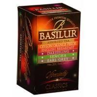 Basilur - Чай черный Избранная классика Ассорти - в пакетиках - 20шт. х 2g (4792252002746)