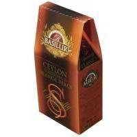 Basilur - Чай черный Избранная классика Цейлонский ОР - картонная коробка - 100g (4792252920699)