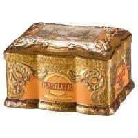 Basilur - Чай черный Ларец Янтарь Коллекция Ларец - жестяная банка - 100g (70520-00)