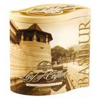 Basilur - Чай черный Лист Цейлона Канди - жестяная банка - 100g (4792252926608)