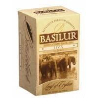 Basilur - Чай черный Лист Цейлона Ува - в пакетиках - 25шт. х 2g (4792252917248)