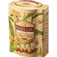 Basilur - Чай черный Magic Fruits Имбирь - жестяная банка - 100g (4792252916555)