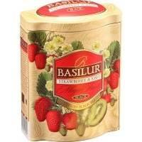 Basilur - Чай черный Magic Fruits Клубника и киви - жестяная банка - 100g (4792252100602)