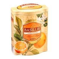Basilur - Чай черный Magic Fruits Мандарин - жестяная банка - 100g (4792252918078)