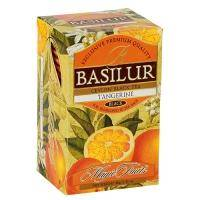 Basilur - Чай черный Мандарин Коллекция Волшебные фрукты - картонная коробка - 20х2g (70782-00)
