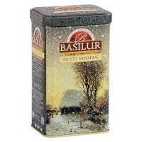 Basilur - Чай черный Морозное утро  Коллекция Подарочная коллекция - жестяная банка - 85g (71269-00)