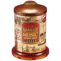 Basilur - Чай черный Музыкальная шкатулка Лондон - жестяная банка - 100g (4792252916708)