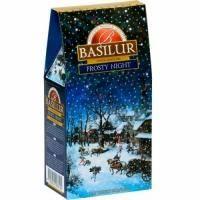 Basilur - Чай черный Подарочный Морозная ночь - картонная коробка - 100g (4792252928145)