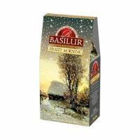 Basilur - Чай черный Подарочный Морозное утро - картонная коробка - 100g (4792252928121)