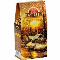 Basilur - Чай черный Подарочный Морозный вечер - картонная коробка - 100g (4792252928138)