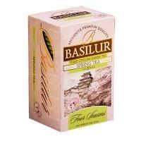 Basilur - Чай зеленый Весенний Коллекция Четыре сезона - картонная коробка - 20х1.5g (70392-00)