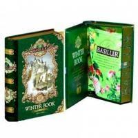 Basilur - Чай зеленый Зимняя книга Том III - жестяная банка - 100гр (4792252100831)