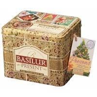 Basilur - Чай черный Золотой подарок - жестяная банка - 100g (4792252100190)