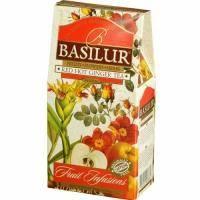 Basilur - Чай Фруктовые коктейли Горящий имбирь - картонная коробка - 100g (4792252923881)