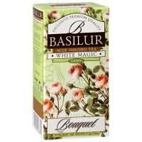 Basilur - Чай зеленый Букет Белое волшебство - в пакетиках - 25шт. х 1.5g (4792252918870)