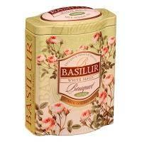 Basilur - Чай зеленый Букет Белое волшебство - жестяная банка - 100g (70147-00)