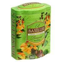 Basilur - Чай зеленый Букет Зелёная свежесть - жестяная банка - 100g (70142-00)