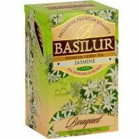 Basilur - Чай зеленый Букет Жасмин -  в пакетиках - 20шт. х 1.5g (4792252927216)