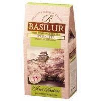Basilur - Чай зеленый Четыре сезона Весенний -  картонная коробка - 100g (4792252915510)