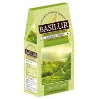 Basilur - Чай зеленый Лист Цейлона Раделла - картонная коробка - 100g (4792252916791)