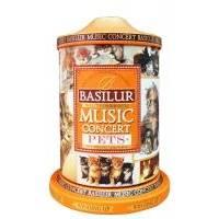 Basilur - Чай зеленый Музыкальная шкатулка Любимцы - жестяная банка - 100g (4792252923973)