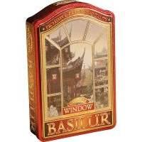 Basilur - Чай зеленый Окна Китай - жестяная банка - 100g (4792252919112)