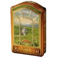 Basilur - Чай зеленый Окна Шри Ланка - жестяная банка - 100g (4792252919136)