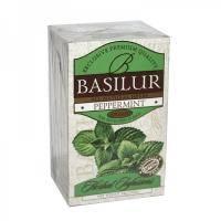 Basilur - Чай зеленый Травяные настои Перечная мята - в пакетиках - 20шт. х 1.2g (4792252922785)