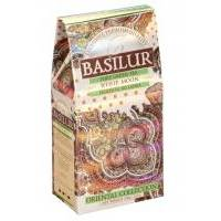 Basilur - Чай зеленый Восточная коллекция Белый месяц - картонная коробка - 100g (4792252916449)