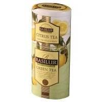 Basilur - Чай зеленый Зеленый + Цитрус 2в1 - жестяная банка - 125g (4792252201170)
