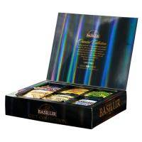 Basilur - Подарочный набор Восточная коллекция - картонная коробка - 50х2g+10х1,5g (70969-00)