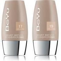 BeYu - Тональный крем с матирующим эффектом Velvet №17 Bright Sand  (385.17)