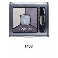 Bourjois - Тени для век Smoky Stories Palette №08 Ocean Obsession/ Синий - 3.2g