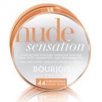 Bourjois - Тональная основа Nude Sensation Foundation №44 Sunny nude/Светлый загар - 18ml