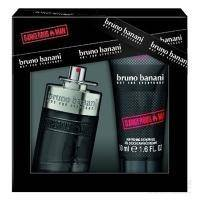 Bruno Banani Dangerous Man - Набор ( Туалетная вода 30 ml +Гель для душа 50 ml)
