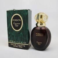 Christian Dior Poison Vintage 1987  г. - туалетная вода - 100 ml (старый дизайн)