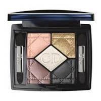 Christian Dior - Тени для век 5-цветные компактные - 5 Couleurs №644 Golden Snow - 6g
