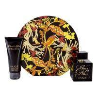 Lalique Encre Noire Pour Elle -  Набор (парфюмированная вода 100 + гель для душа 150)