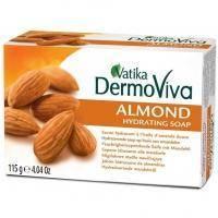 Dabur - Мыло Миндальное Vatika Dermoviva Almond Hydrating Soap - 115 g (D05326)